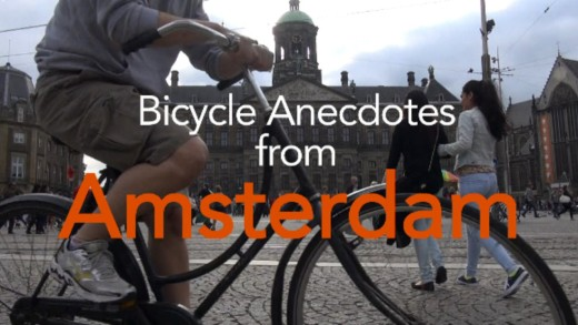 Bicycle Anecdotes from Amsterdam