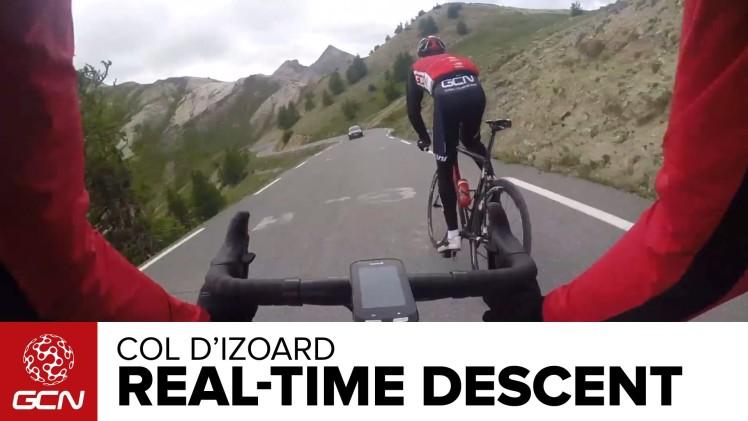 Col D'Izoard Real Time Descent