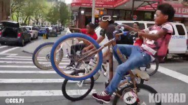 Bike Wheelieing Level Over 9999 !
