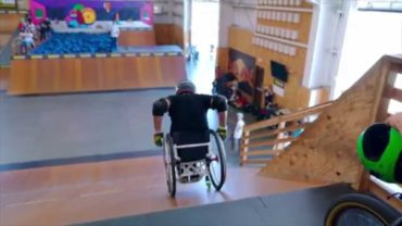 Wheelz in the Air: Hitting the Skatepark on a Wheelchair