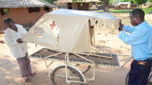 Bicycle Ambulances in Mozambique
