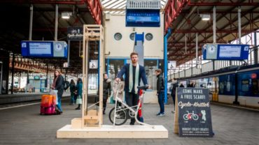 Cyclo Knitter by George Barratt-Jones