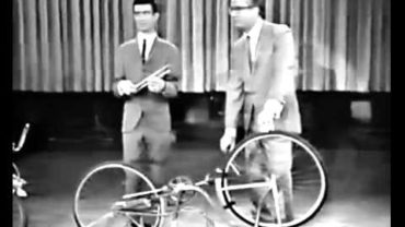 Frank Zappa plays the bicycle
