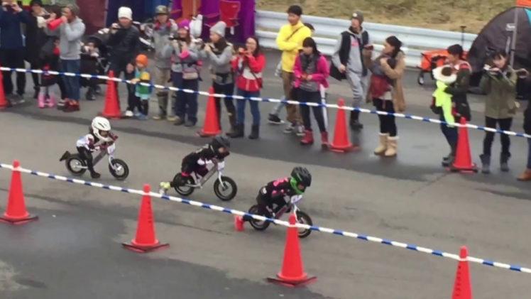 Strider racing in Japan