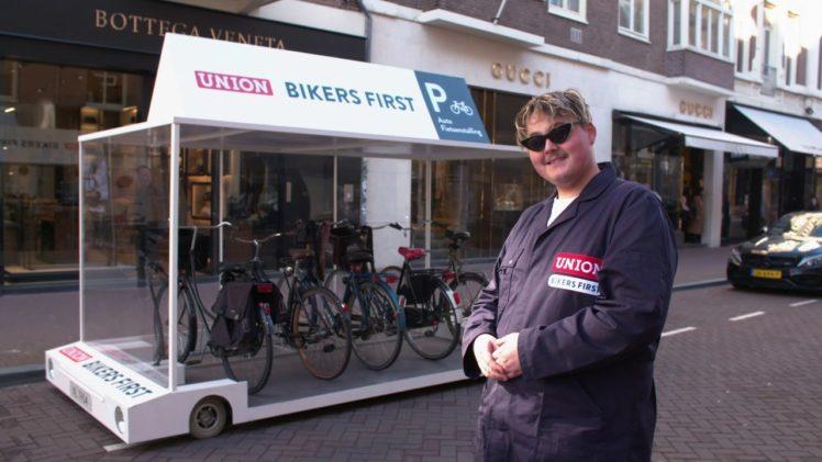 Union Fietsparkeerstalling – Bikers First