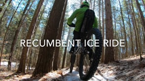 Recumbent Ice Biking 2020